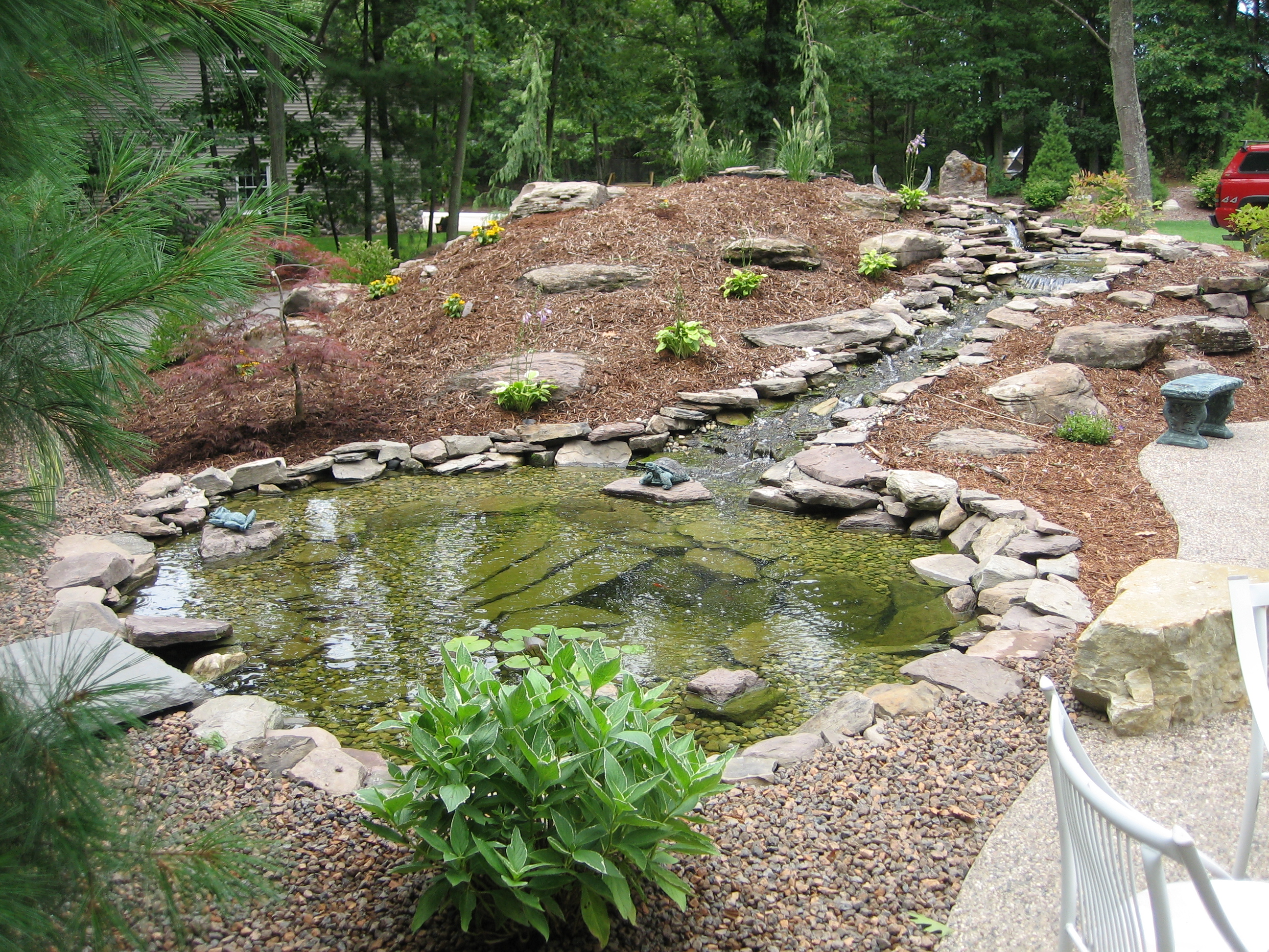 Ridgeview landscaping water features for Water features